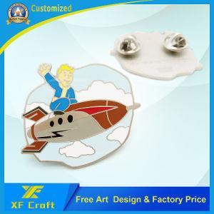 Professional Custom Japan Cartoon Film Lapel Pin at Factory Price (XF-BG32) pictures & photos