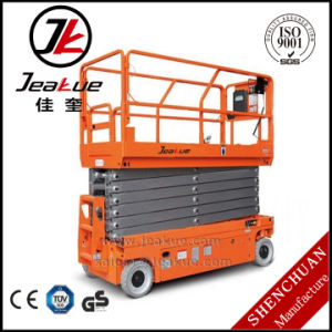 320kg13.8m Electric Scissor Lift Self-Propelled Aerial Work Platform pictures & photos