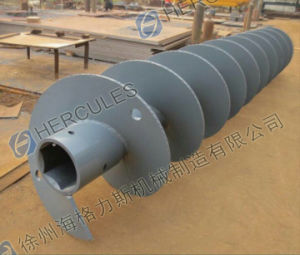 Long Spiral Drill Pipe Cfa Drilling Rod Drilling Bit with Hexagonal Joint pictures & photos
