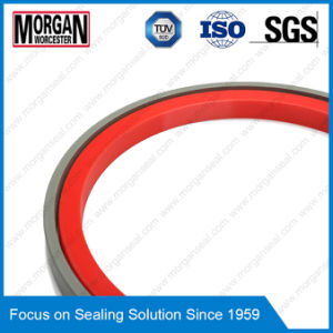 Omk-S Series Hydraulic Cylinder NBR/PTFE Piston Seal Ring pictures & photos