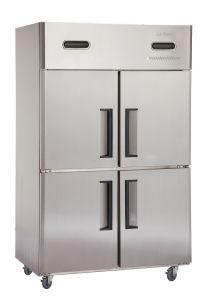 Cheering Double Temperature 4-Door Kitchen Freezer (DG1.0L42) pictures & photos
