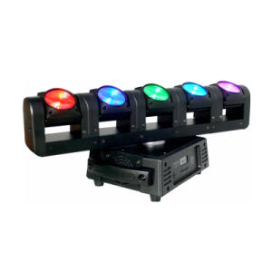 5X15W RGBW 4in1 Five Head Pixel Beam Moving Head Light pictures & photos