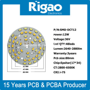 PCB Suppliers Aluminum PCB with LEDs Assembly pictures & photos