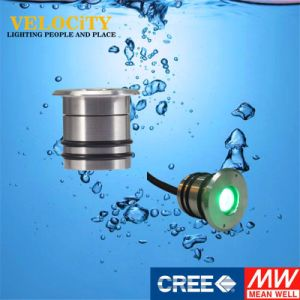 1W 24V High Quality Resin Enclosed IP68 RGB LED Underwater Light pictures & photos