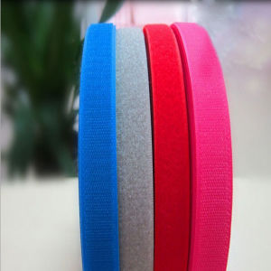 Soft Hook and Loop Self Adhesive Tape pictures & photos