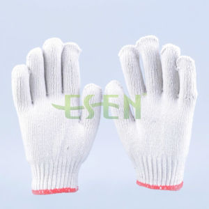 2017 Safety Cotton Gloves/Comfortable Knitted Gloves/Garden Gloves pictures & photos