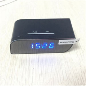 H. 264 720p Motion Detection Night Vision T8s Wireless WiFi clock Camera pictures & photos