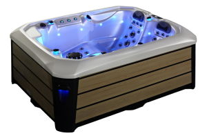 2017 USA Cheap Top Quality 3 Persons SPA Hot Tub pictures & photos