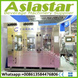Full Automatically Pet Bottle Pure Mineral Water Filling Machine pictures & photos