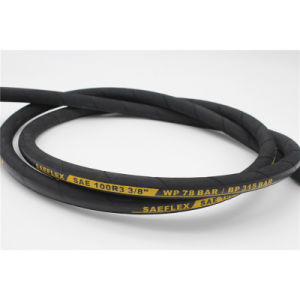 Two Textile Braided SAE 100r3/2st Low Pressure Hydraulic Hose pictures & photos