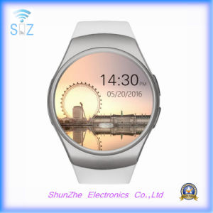 Bluetooth Kw18 Phone Call Fashion Alarm Clock Andriod Smart Watch with Multi-Function pictures & photos