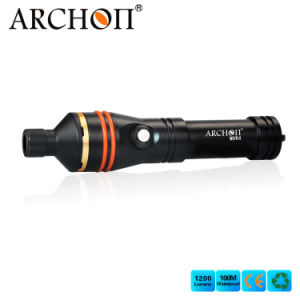 Hot Sale Ce&RoHS Archon W17V-II 1200 Lumens Wide Angle Photographing Snoot Macro Photography Scuba Diving Flashlight Dive Torch for Macroshot pictures & photos