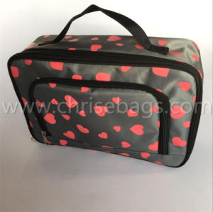 Foam Satin Gift Hand Cosmetic Bag pictures & photos