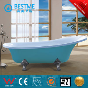 Acrylic Simple Bathtub with Four Claw Feet (BT-Y6306) pictures & photos