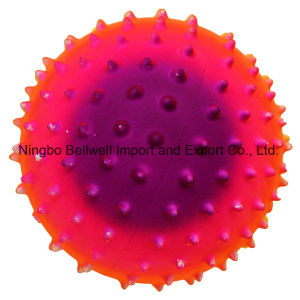 Colorful PVC Rainbow Massage Ball Knobby Ball pictures & photos