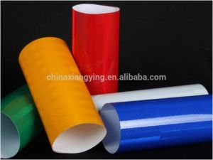 1.22 X 45.7m Diamond Grade Pet Micro Prismatic Reflective Sheeting for Warning pictures & photos