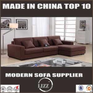 Modern Furniture L Shape Fabric Sofa Set pictures & photos