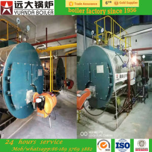 3ton Factory Price Wns Series Oil/Gas Fired Steam Boilers pictures & photos
