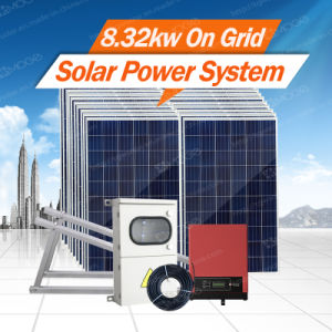 Morege Grid Tie 2kw-10kw-30kw Solar Energy Generator (System) pictures & photos