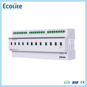 Lighting Control Unit 12fold 20A Switch Actuator with Current Feedback Eib Knx pictures & photos