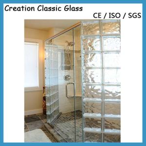 Tempered Decorative Frosted Glass-Acid Etched Shower Glass pictures & photos