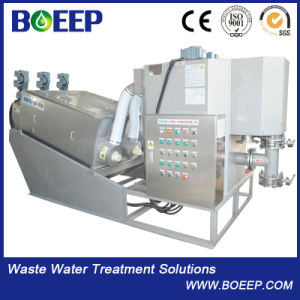 ISO Standard Hot Selling Screw Press Dewatering Machine pictures & photos