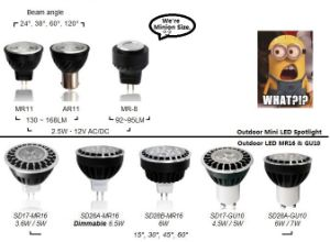 MR16 LED Spotlight for Outdoor Lanscape Light pictures & photos