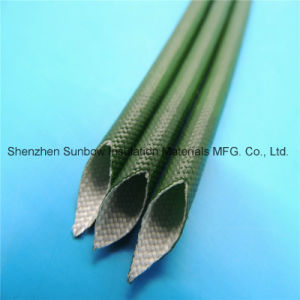 Flexible UL1441 VW-1 Silicone Fiberglass Braided Electric Wire Insulaiton Tube 1.2kv pictures & photos