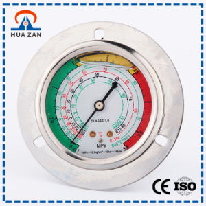 how to find pressure of gas in manometer