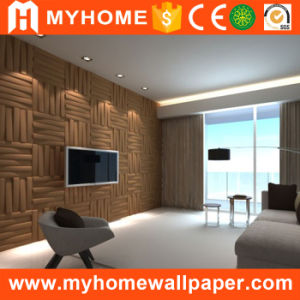 Made in China PVC Material Decoration Waterproof Building Material 3D Wall Panel pictures & photos