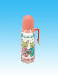 Different Sizes of Hot Selling Nice Glass Feeding Bottle/Nursing Bottle/Baby′s Bottle, with Handle pictures & photos