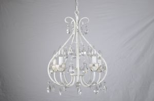 Pure White Finishing Mini Crystal Pendant /Mini Crystal Chandelier pictures & photos