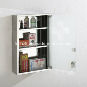 New Style Stainless Steel Furniture Bathroom Storage Mirror Cabinet (7030) pictures & photos