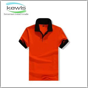 Red Color Dry Fit Mesh Polo T-Shirt with Polo Neck pictures & photos