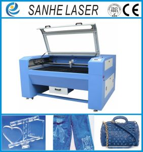 Fiber CO2 Laser Engraver Engraving Machine Cutting Machine for Leather Plastic pictures & photos