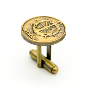 Promotional Customized Brass Stamping Cufflink pictures & photos