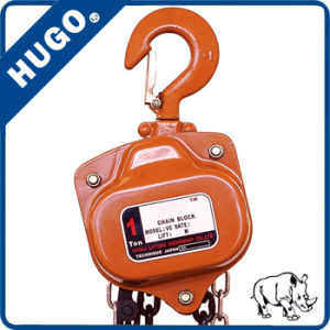 Double Bearing Hsz-Vd Manual Chain Hoist Chain Block Made in China pictures & photos