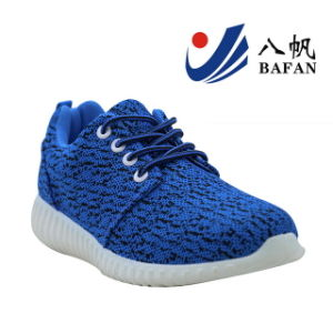 2016 Woven Fabric Upper Casual Sport Shoes Bf161020 for Men and Women pictures & photos