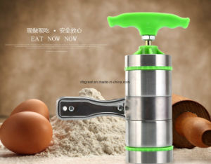Manual Noodle Maker Press Stainless Steel Manual Pasta Maker pictures & photos