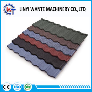 Wante Top Quality Stone Coated Metal Roof Tile pictures & photos
