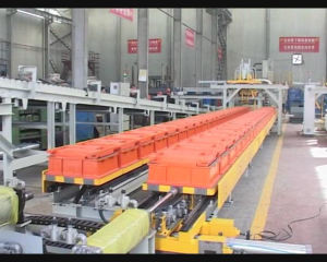 Horizontal Flaskless Automatic Molding Machine pictures & photos