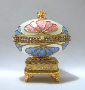 Goose Egg Music Box/Jewelry Box(YJ106M)