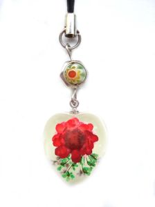 Real Flower Mobile Chain