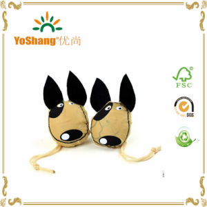 High Quality Foldable Dog Shape Promotional Polyester Bag for Shopping pictures & photos