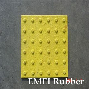Rubber Tile for Blind, Anti-Slip, Tactile Tile, Safe and Sound pictures & photos