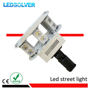 60W IP66 COB Dimmable Sensor Solar LED Street Lamp