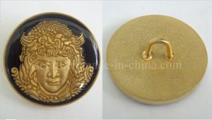 Gold Plating Cuff Links with OEM Design pictures & photos