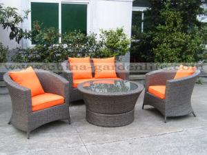 Wicker Furniture Set (PHGF-T230R, C230R, C231R)