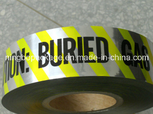 Underground Detectable Caution Tape Detectable Warning Tape for Buried Pipe pictures & photos