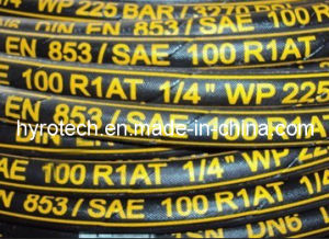 Hydraulic Hose DIN En 854 3te Textile Braided Hose pictures & photos